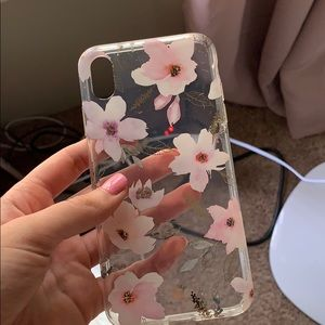 Velvet caviar iPhone XS MAX cleat case floral